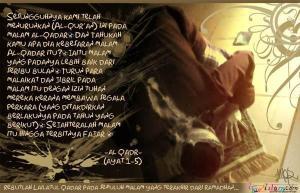 Menggapai Lailatul Qadar